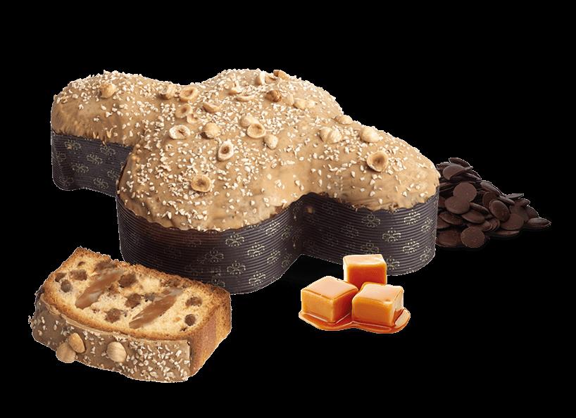 Colomba Caramel Salé – 1kg